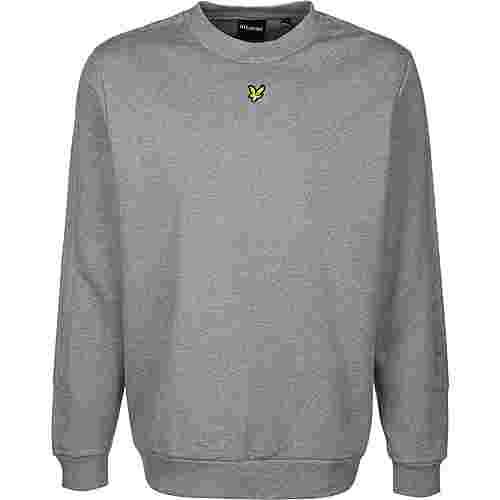 Lyle & Scott Fabric Mix Crew Sweatshirt Herren grau/meliert