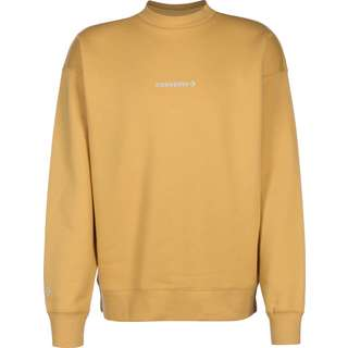 CONVERSE Mock Neck Crew Sweatshirt Herren gelb