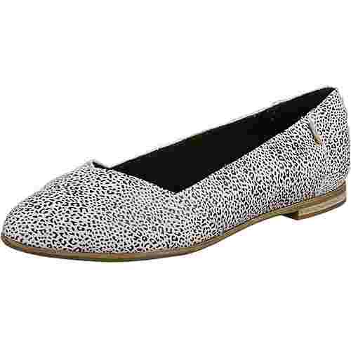 Toms Julie Flat Sneaker Damen weiß/schwarz
