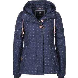 Ragwear Lynx Dots W Winterjacke Damen blau