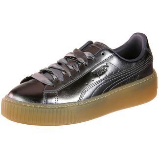 PUMA Basket Platform COP W Sneaker Damen silber