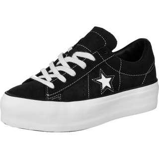 CONVERSE One Star Platform Ox W Sneaker Damen schwarz
