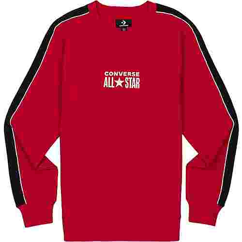 CONVERSE All Star Track Crew Sweatshirt Herren rot