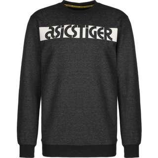 ASICS Sportswear Sweatshirt Herren schwarz/meliert