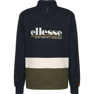 Ellesse Cortgiana 1/4 Sweatshirt Herren oliv/blau