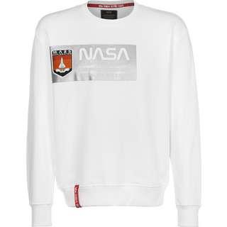 Alpha Industries Mars Reflective Sweatshirt Herren weiß