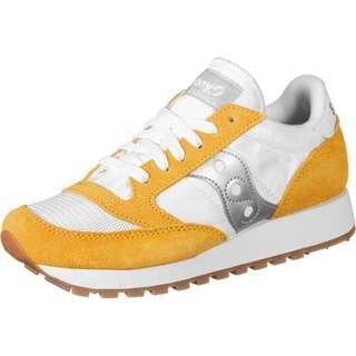 Saucony Jazz Original Vintage W Sneaker Damen weiß/gelb