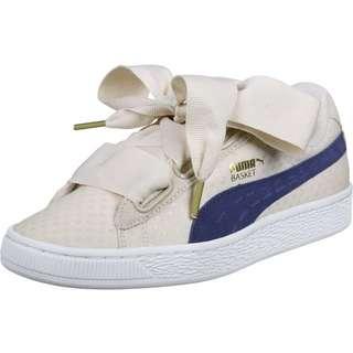 PUMA Basket Heart Denim W Sneaker Damen beige