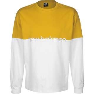 NEW BALANCE MT01507 Longshirt Herren gelb/weiß