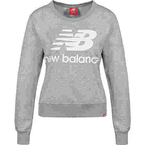 NEW BALANCE WT91585 W Sweatshirt Damen grau/meliert