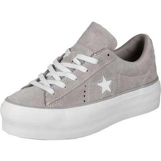 CONVERSE One Star Platform Ox W Sneaker Damen grau