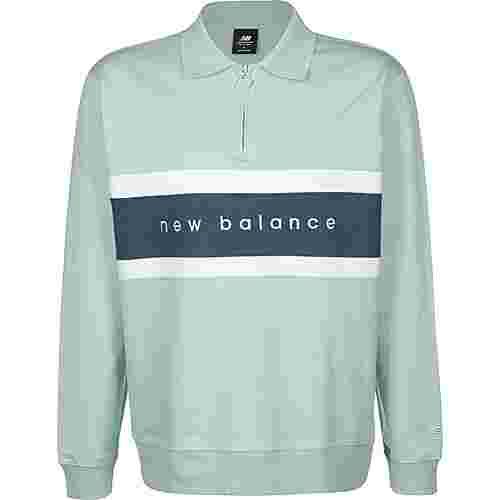 NEW BALANCE MT01513 Longshirt Herren türkis
