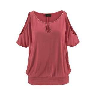 Lascana T-Shirt Damen marsallarot