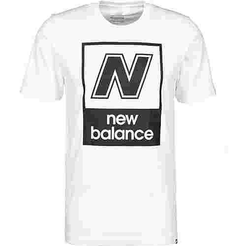 NEW BALANCE MT91583 T-Shirt Herren weiß