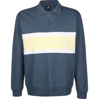 NEW BALANCE MT01513 Longshirt Herren blau