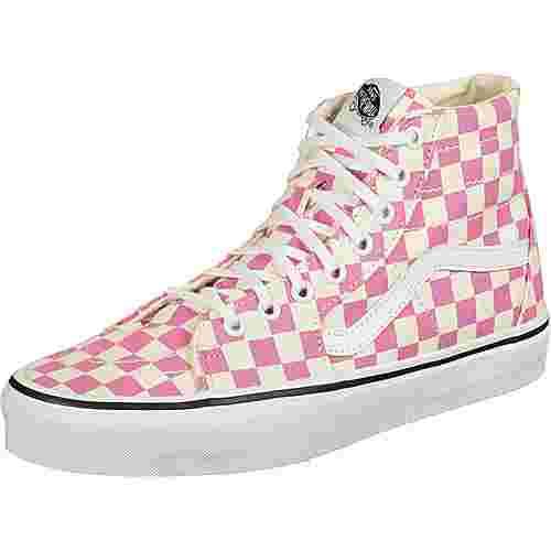 Vans SK8-Hi Tapered Sneaker pink/gelb/kariert