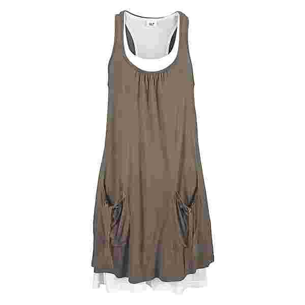 BEACH TIME Jerseykleid Damen khaki