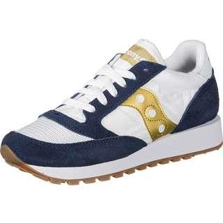 Saucony Jazz Original Vintage W Sneaker Damen blau/gold