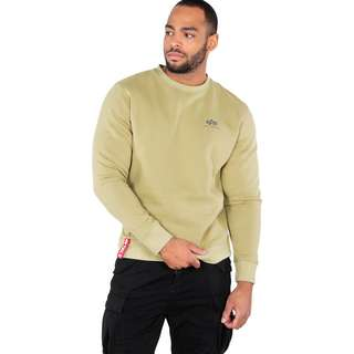 Alpha Industries Basic Small Logo Sweatshirt Herren beige