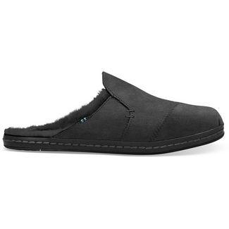 Toms Nova Leather Wrap Hausschuhe Damen schwarz