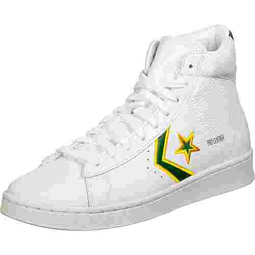 CONVERSE Pro Leather Hi Basketballschuhe Herren weiß/grün