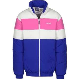 ASICS CB Daunenjacke Herren blau/pink/weiß