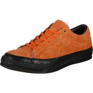 CONVERSE One Star Black Sole Sneaker orange