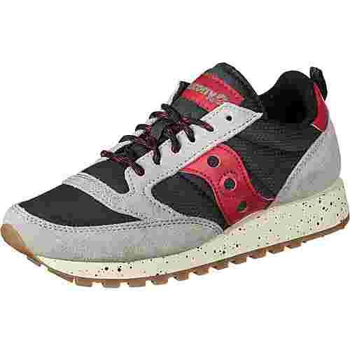 Saucony Jazz Original Trail W Sneaker Damen grey/black/red