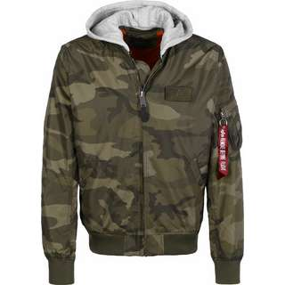 Alpha Industries MA-1 TT Hood Windbreaker Herren oliv
