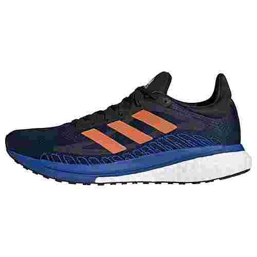 adidas SolarGlide ST 3 Laufschuh Laufschuhe Herren Collegiate Navy / Signal Orange / Royal Blue