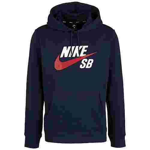 Nike Icon Hoodie Herren dunkelblau