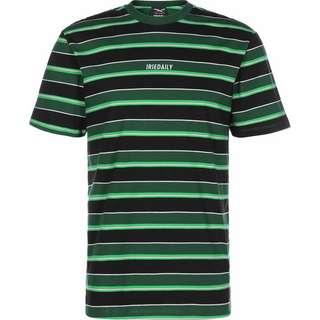 iriedaily Tony Stripe T-Shirt Herren grün/schwarz/gestreift