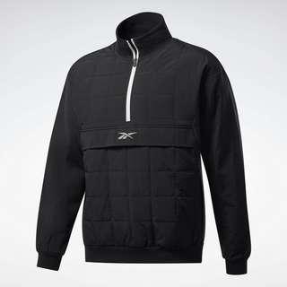 Reebok MYT Quilted Half-Zip Jacket Funktionssweatshirt Herren Schwarz