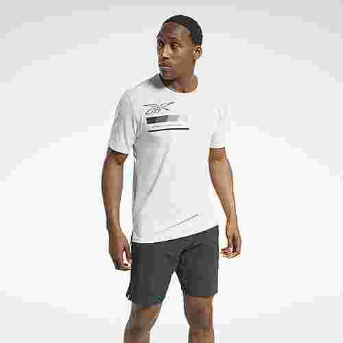 Reebok ACTIVCHILL Graphic Move T-Shirt Funktionsshirt Herren Weiß
