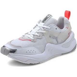 PUMA Rise Contrast W Sneaker Damen White-Ignite Pink