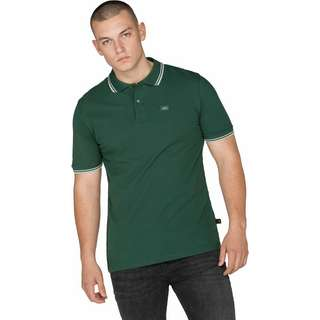 Alpha Industries Twin Striple II Poloshirt Herren grün