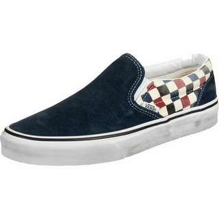 Vans Slip-On Slipper (Washed) blue/chili pepper