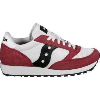 Saucony Jazz Original Vintage Sneaker Herren rot/weiß