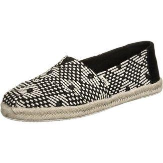 Toms Alpargata Sneaker Damen schwarz