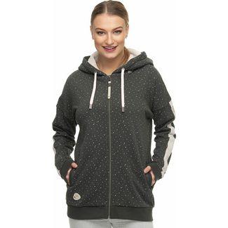 Ragwear LEXYA ZIP ORGANIC Sweatjacke Damen grau