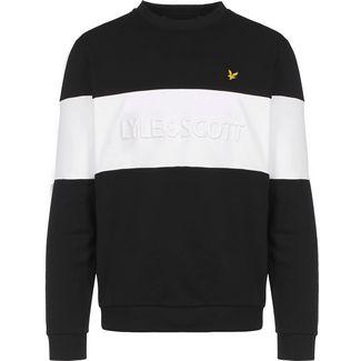 Lyle & Scott Logo Sweatshirt Herren schwarz