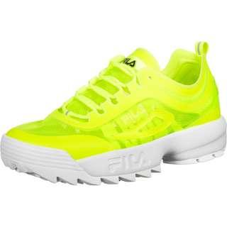 FILA Disruptor Run Sneaker Herren neon/gelb