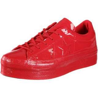 CONVERSE One Star Platform Ox W Sneaker Damen rot