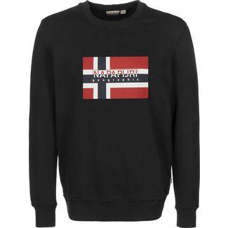 Napapijri Bovico C Sweatshirt Herren schwarz