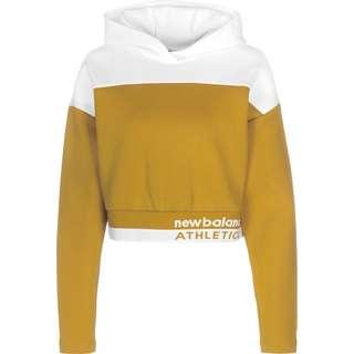 NEW BALANCE WT01500 Hoodie Damen gelb/weiß