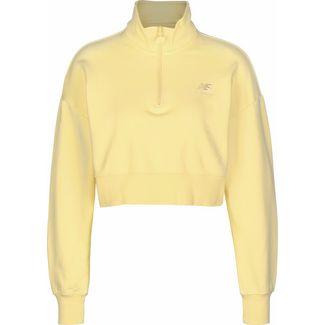 NEW BALANCE WT01524 Sweatshirt Damen gelb