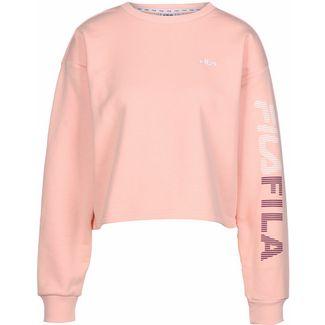 FILA Cropped Sweatshirt Damen pink