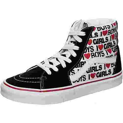 Vans SK8-Hi Sneaker schwarz/weiß
