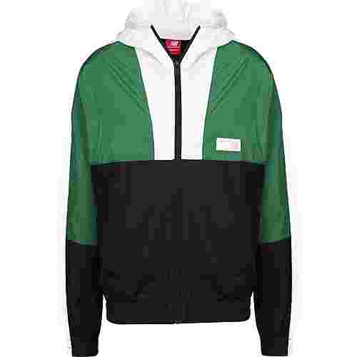 NEW BALANCE MJ91506 Trainingsjacke Herren grün/schwarz