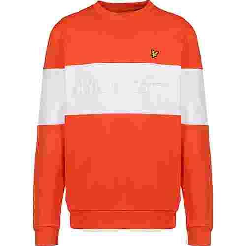 Lyle & Scott Logo Sweatshirt Herren orange